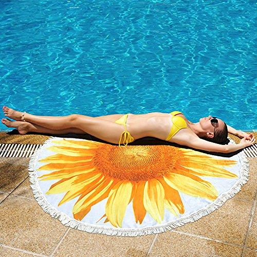 Sunflower Beach Blanket
