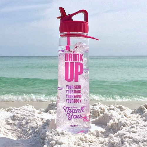 Motivational Water Bottle | going-away-college-gifts-girls
