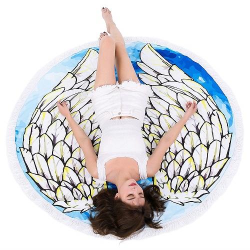 Angel Wings Towel Blanket