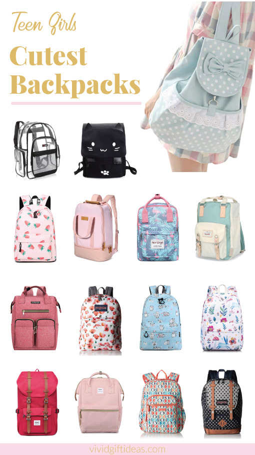 87b19c6f81c 15 Cute Backpacks For High School and College Girls