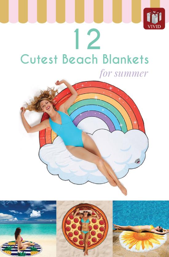 Cutest Beach Blankets for Summer