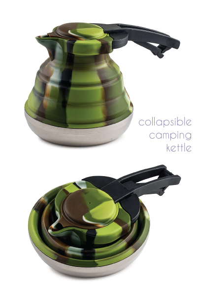 Collapsible Silicone Camping Kettle
