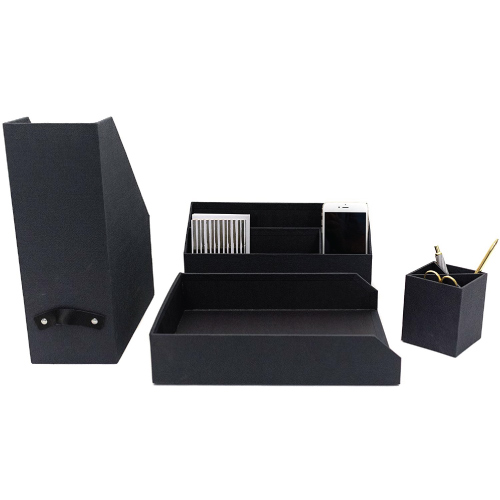 Blu Monaco Executive Desk Organizers | College Gifts for Guys