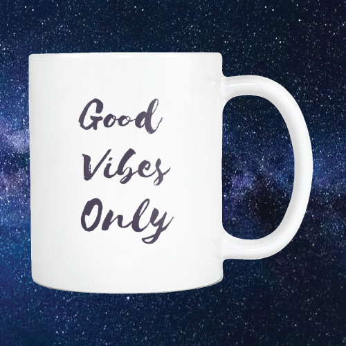 Good Vibes Only Mug | going-away-college-gifts-girls