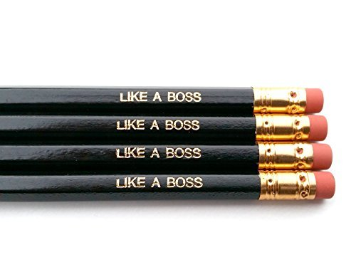 Like A Boss Pencils