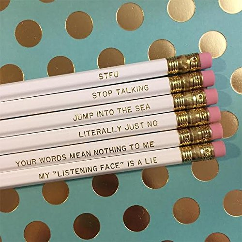 Sassy Quote Pencil