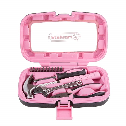 Pink Hand Tools Set