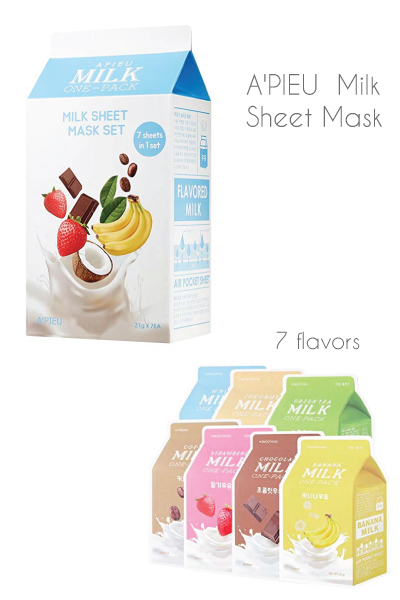 A'PIEU Milk Sheet Mask