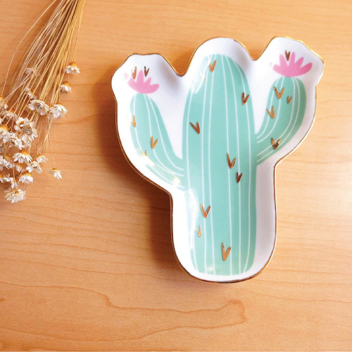 Cactus Catchall Tray
