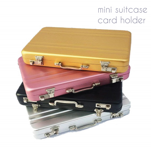 Mini Suitcase Card Holder