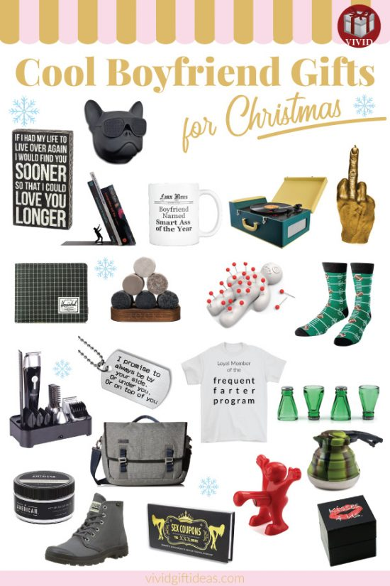 20+ Best Christmas Gifts for Boyfriend (2018)