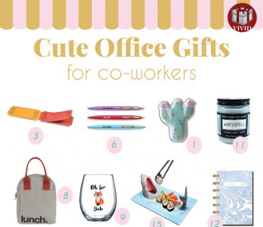 Holiday Gift Guide: Best Christmas Gifts for Coworkers 2018
