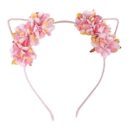 Floral Ears Headband