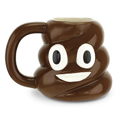 Poop Emoji Ceramic Mug