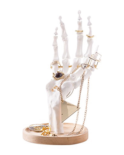Suck UK Skeleton Hand Jewellery Holder