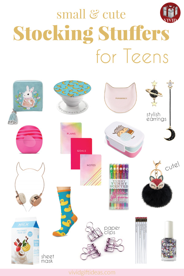 Christmas Stocking Stuffers for Teens