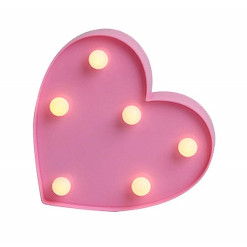 LED Heart Decorative Light