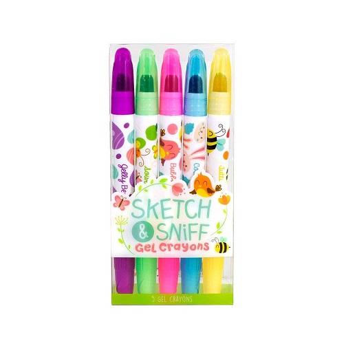 Scentco Spring Sketch & Sniff Scented Gel Crayons