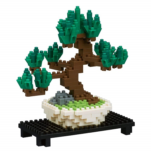 Nanoblock Pine Bonsai Tree Building Set