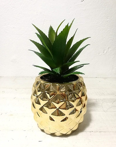 Artificial Potted Succulent Plant