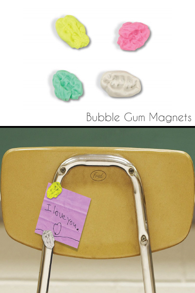 Fred STUCK UP Bubble Gum Magnets