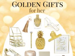 Golden Gifts for Women