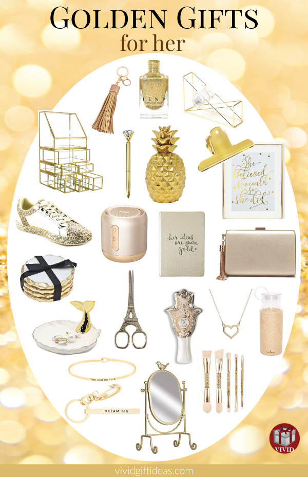 Golden Gifts for Women