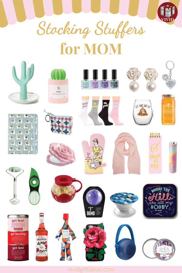 30 Stocking Stuffer Ideas For Mom Small Christmas Gifts