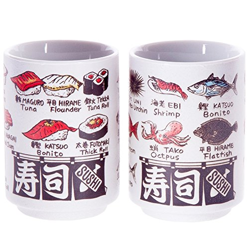 Japanese Tea Cup Set