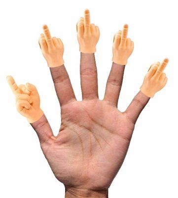Obscene Finger Hand Puppet