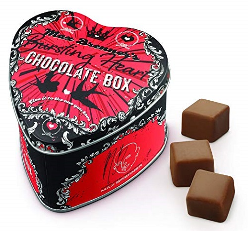 Bursting Heart Chocolate Box