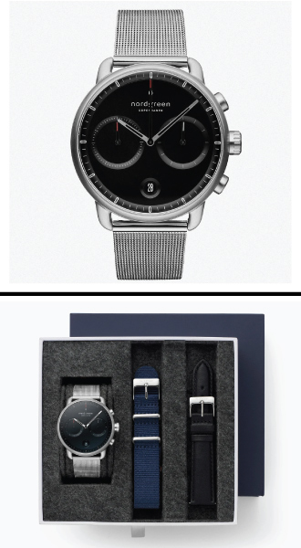 Nordgreen Pioneer Watch Bundle