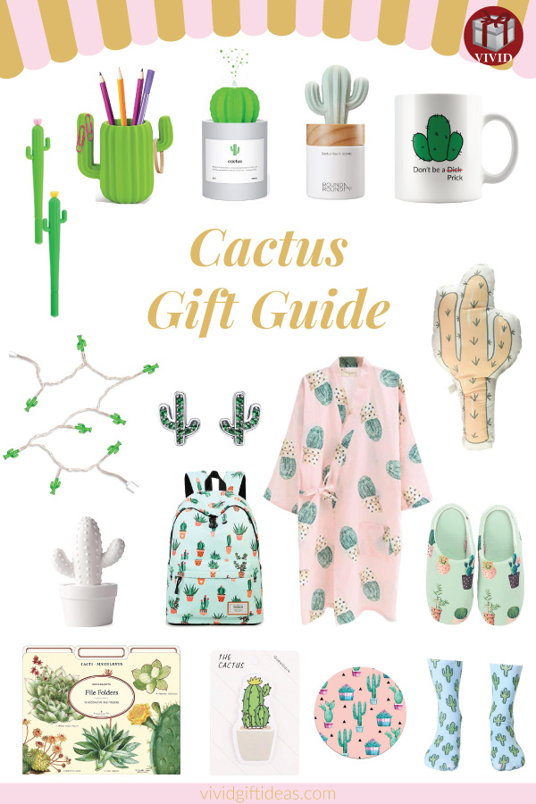 Gifts for Cactus Lovers #cactus #cactusgifts #succulents