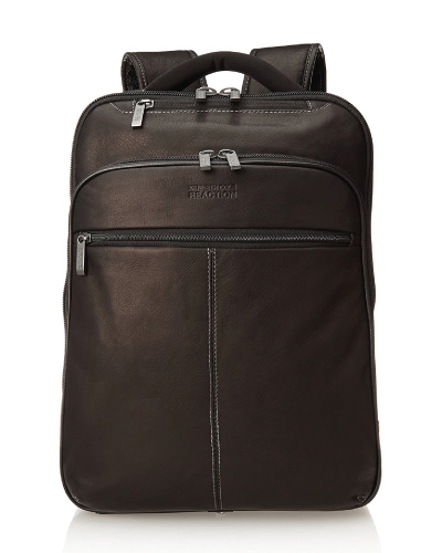 Kenneth Cole Reaction Back-stage Access Colombian Leather Backpack
