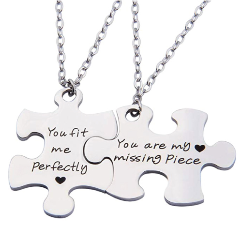 My Missing Piece Necklace Set