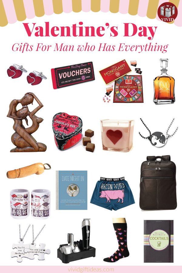 Valentine's Day Gifts for Guy Who Has Everything