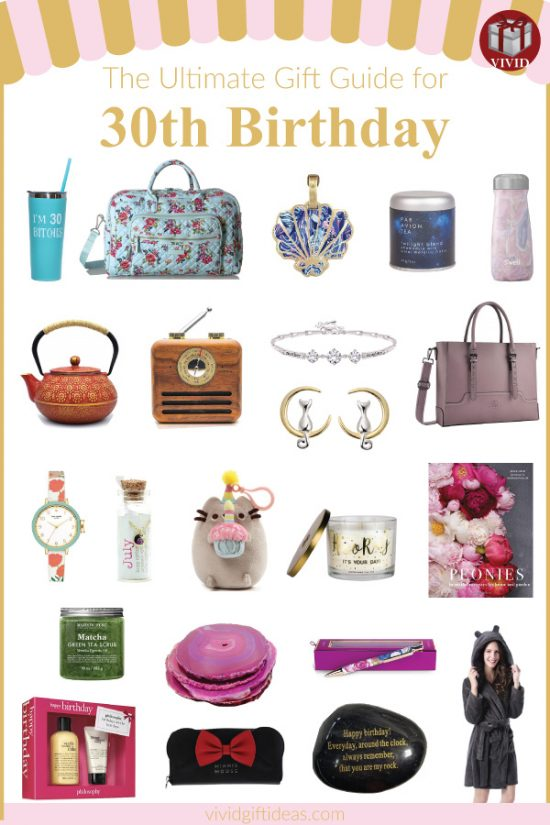 30th Birthday Gifts for Her