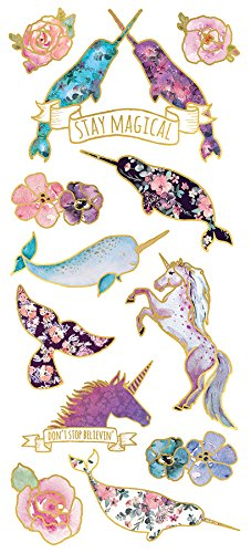 narwhal-lover-gifts Paper House Productions Sea Unicorn Stickers