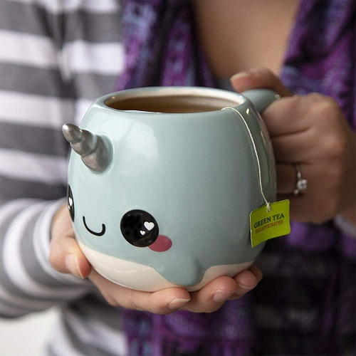 narwhal-lover-gifts Narwhal Coffee Mug