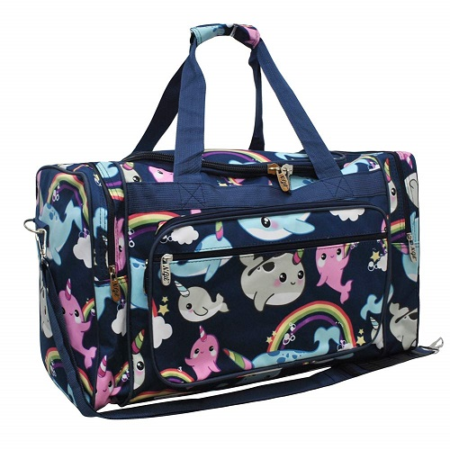 narwhal-lover-gifts Narwhal World NGIL Canvas Duffle Bag