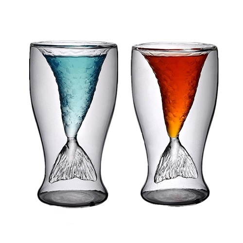 Mermaid Wine Glasses Set