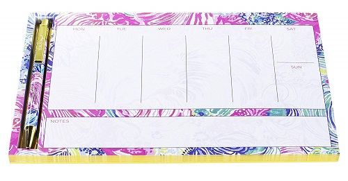 Lilly Pulitzer Weekly Planner Desk Pad