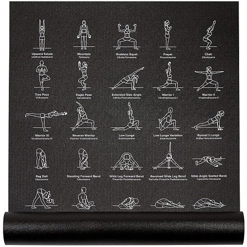 Yoga Poses Chart