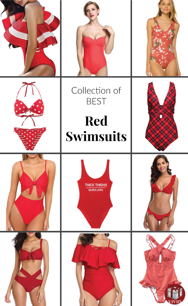 Best Red Swimsuits for Summer