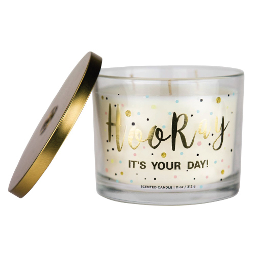 Aromascape Hooray it's Your Day Scented Candle