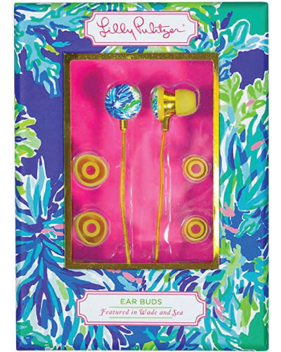 Lilly Pulitzer Wade & Sea Earbuds