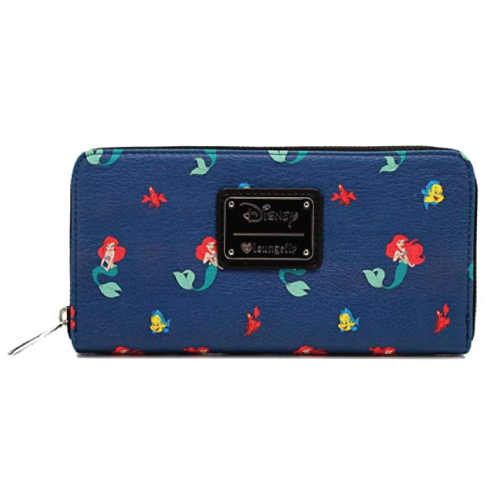 Loungefly x Little Mermaid Ariel Flounder Sebastian Wallet