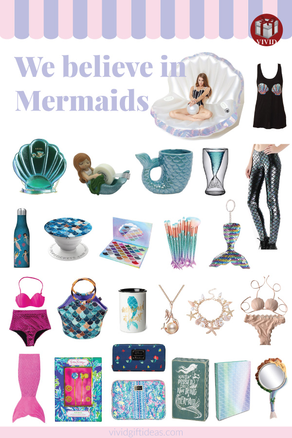 Gift ideas for mermaid lovers