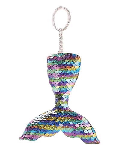 actlati glitter sequins charm keychain