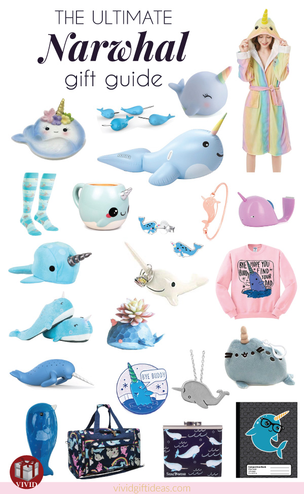 Narwhal Gift Guide: Narwhal-Themed Gifts